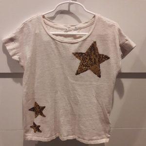 Girls sequence star tee